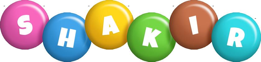 Shakir candy logo