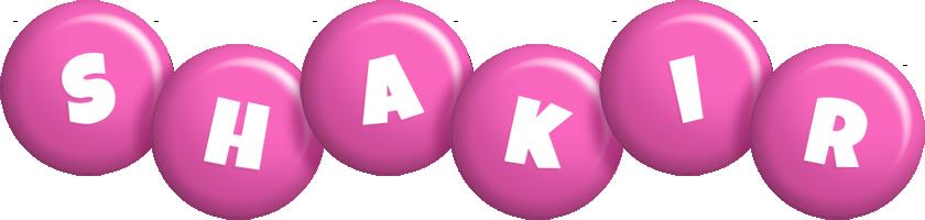Shakir candy-pink logo