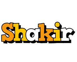 Shakir cartoon logo