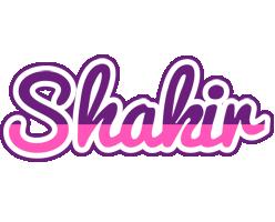 Shakir cheerful logo