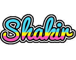 Shakir circus logo