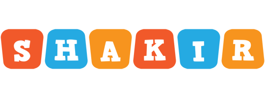 Shakir comics logo