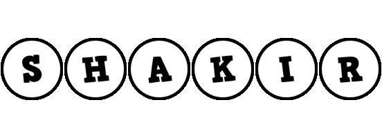 Shakir handy logo