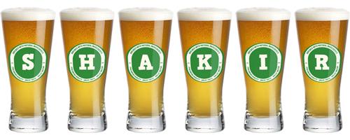 Shakir lager logo