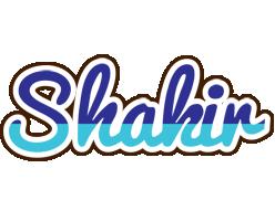 Shakir raining logo