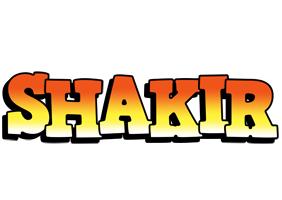 Shakir sunset logo