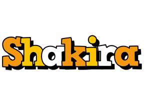 Shakira cartoon logo