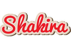 Shakira chocolate logo