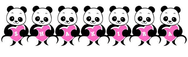 Shakira love-panda logo