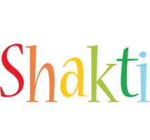 Shakti birthday logo