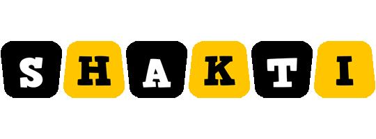 Shakti boots logo