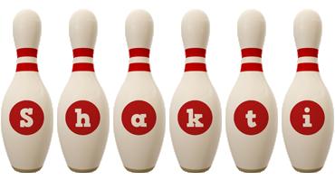 Shakti bowling-pin logo