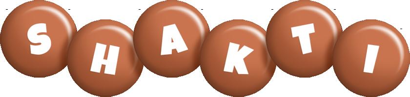 Shakti candy-brown logo