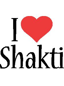 Shakti i-love logo