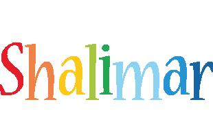Shalimar birthday logo