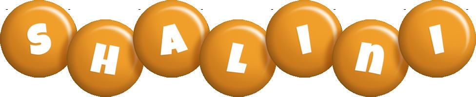 Shalini candy-orange logo