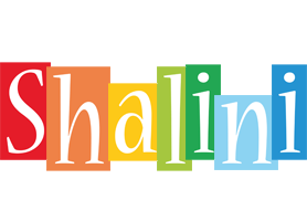 Shalini colors logo