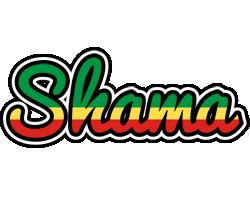 Shama african logo