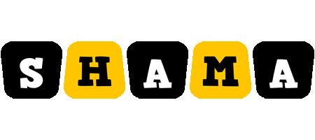 Shama boots logo