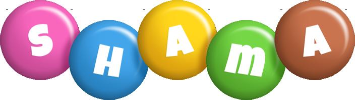 Shama candy logo