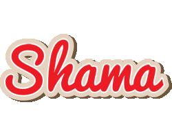 Shama chocolate logo
