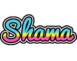 Shama circus logo