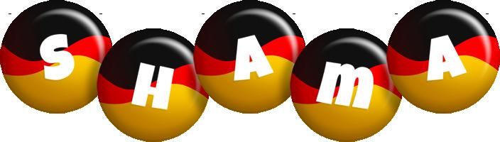 Shama german logo