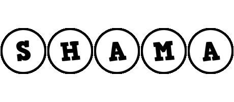 Shama handy logo