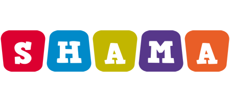 Shama kiddo logo