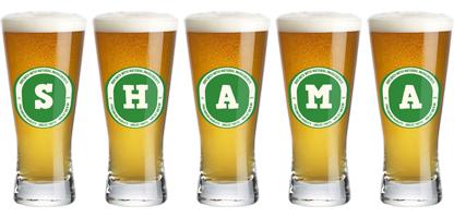 Shama lager logo