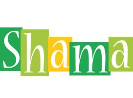Shama lemonade logo