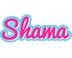 Shama popstar logo