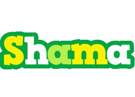 Shama soccer logo