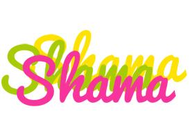 Shama sweets logo
