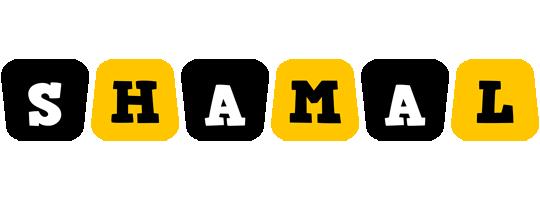 Shamal boots logo