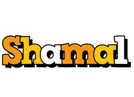 Shamal cartoon logo