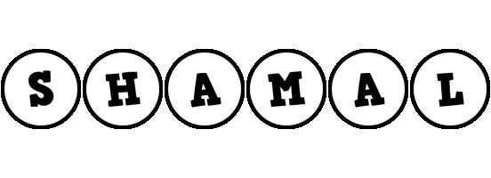 Shamal handy logo