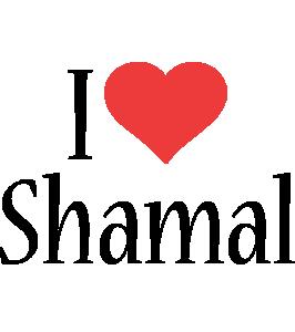 Shamal i-love logo