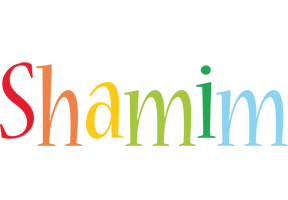 Shamim birthday logo