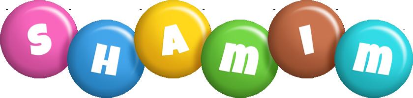Shamim candy logo