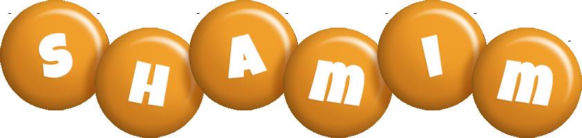 Shamim candy-orange logo