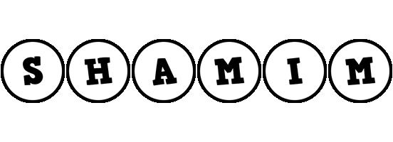 Shamim handy logo