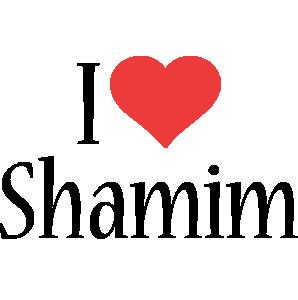 Shamim i-love logo