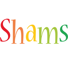 Shams birthday logo