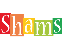 Shams colors logo