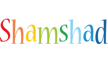Shamshad birthday logo