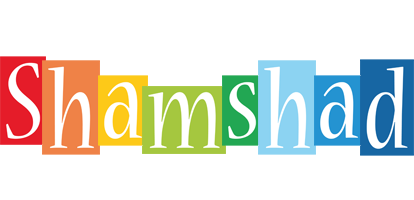 Shamshad colors logo