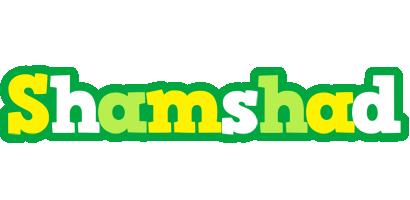 Shamshad soccer logo