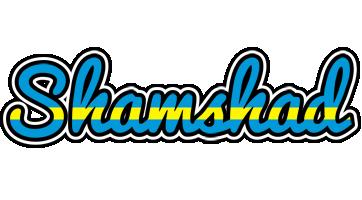 Shamshad sweden logo