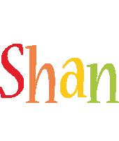 Shan birthday logo